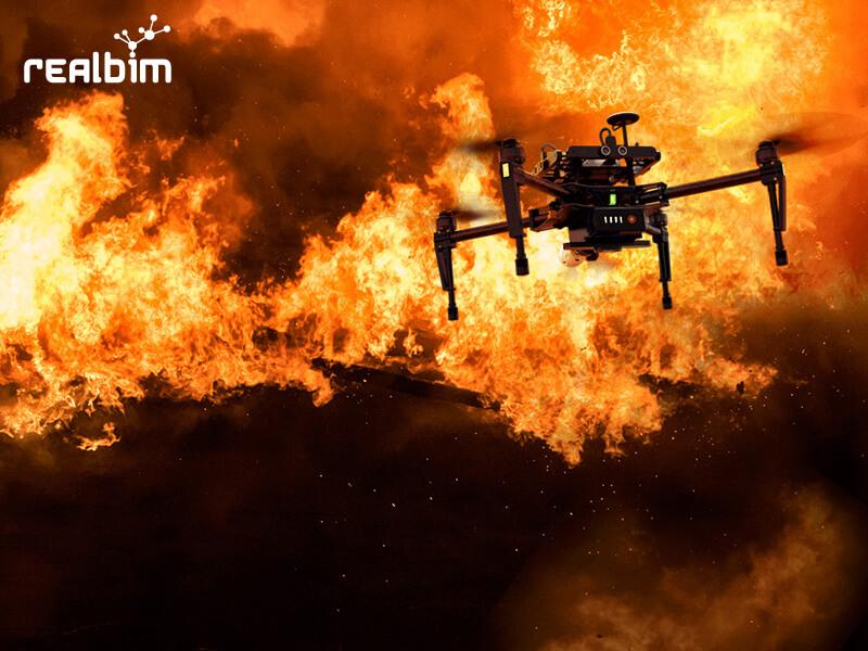 Il Drone in cantiere. Tristan Randall, Autodesk.